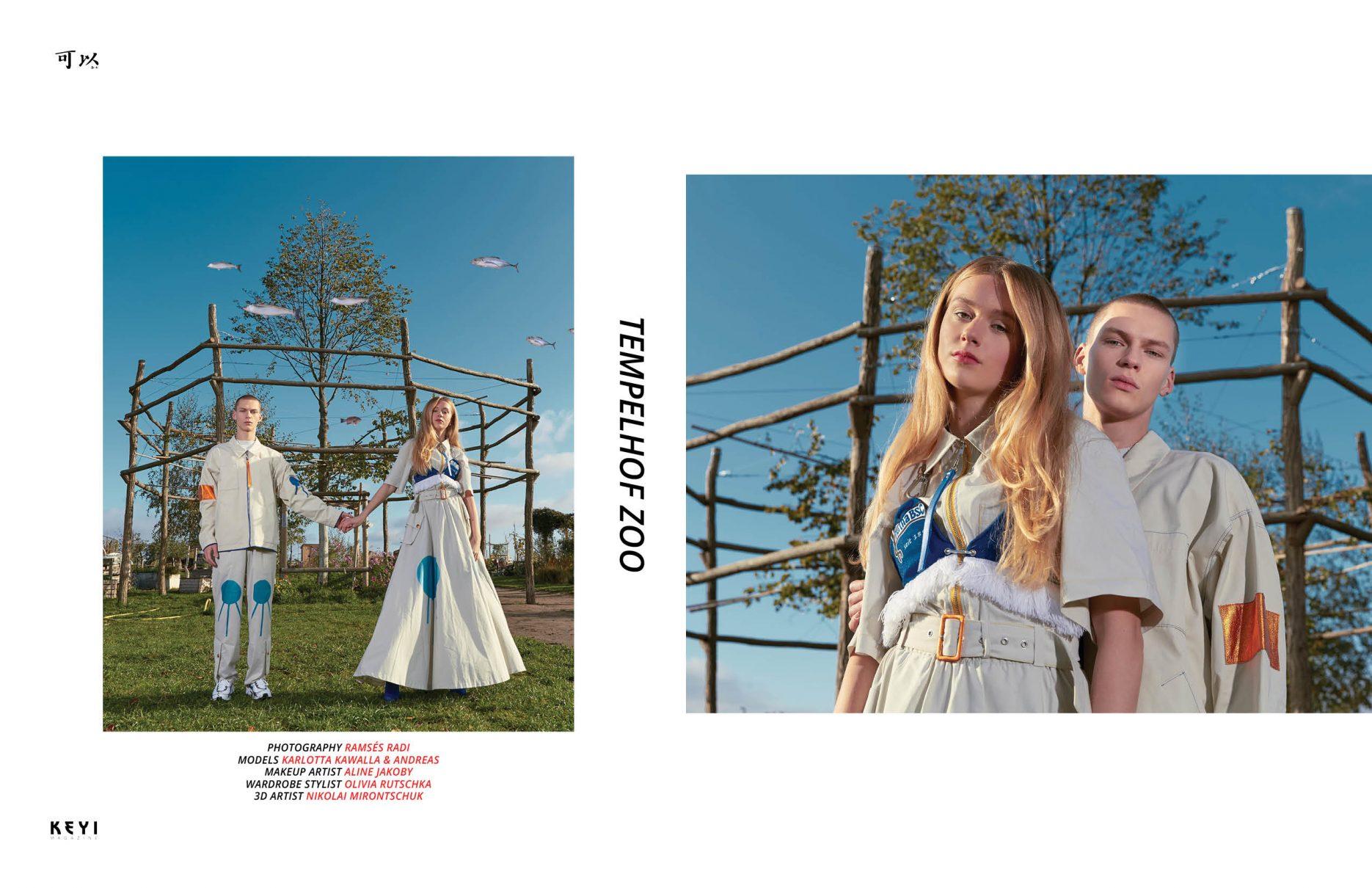 photoshoot for keyimagazine