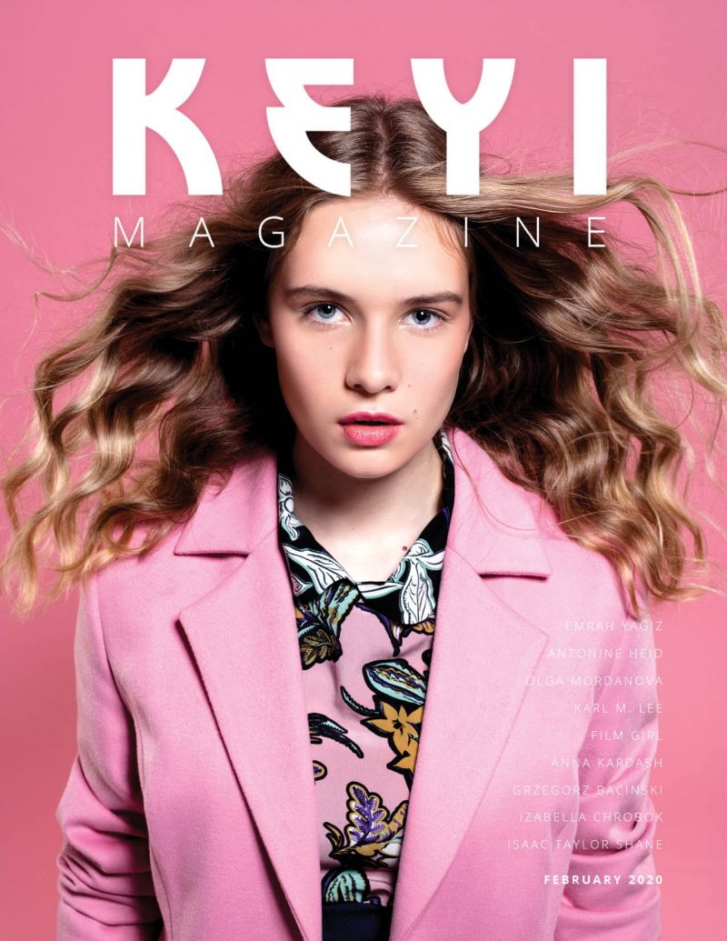 fashion shoot for keyi magazine
