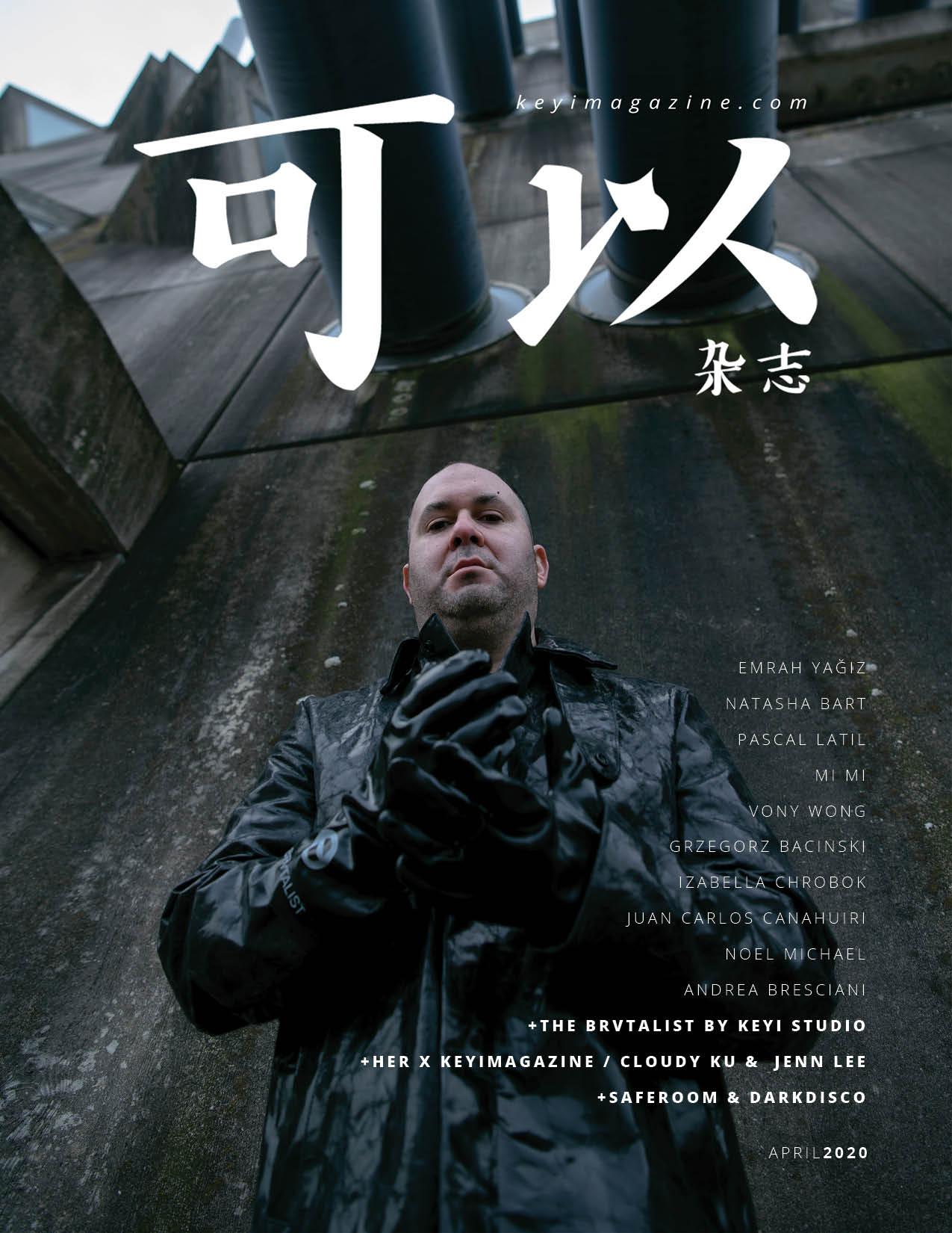 photoshoot of the brvtalist by keyistudio for keyi magazine