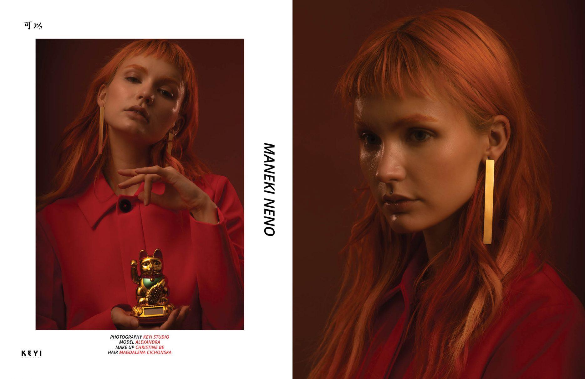 photoshoot for keyi magazine by keyi studio