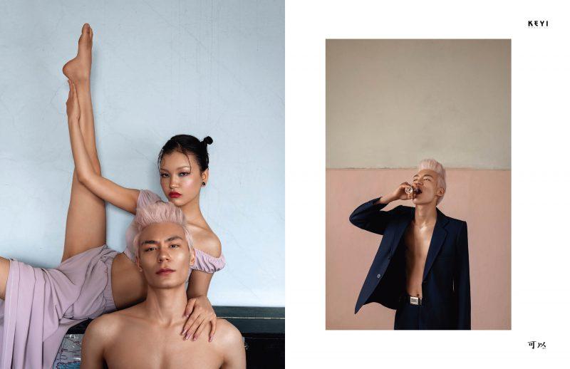 fashion shoot for keyimagazine