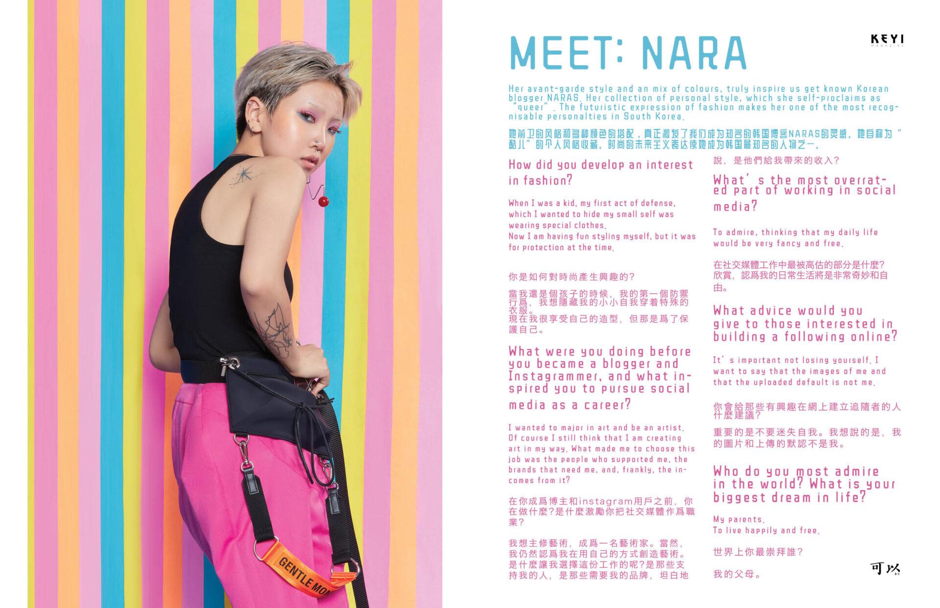 MEET:NARA by interview and photos Grzegorz Bacinski & Izabella Chrobok