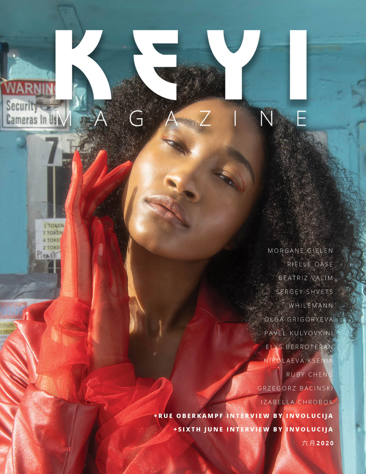 photoshoot for keyi magazine berlin