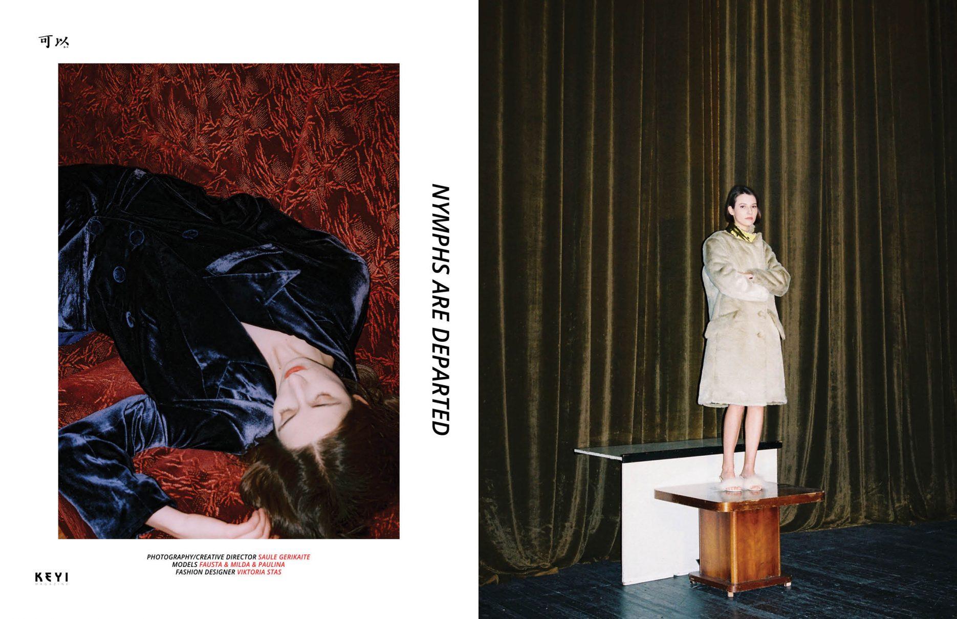 fashion shoot for keyi magazine berlin
