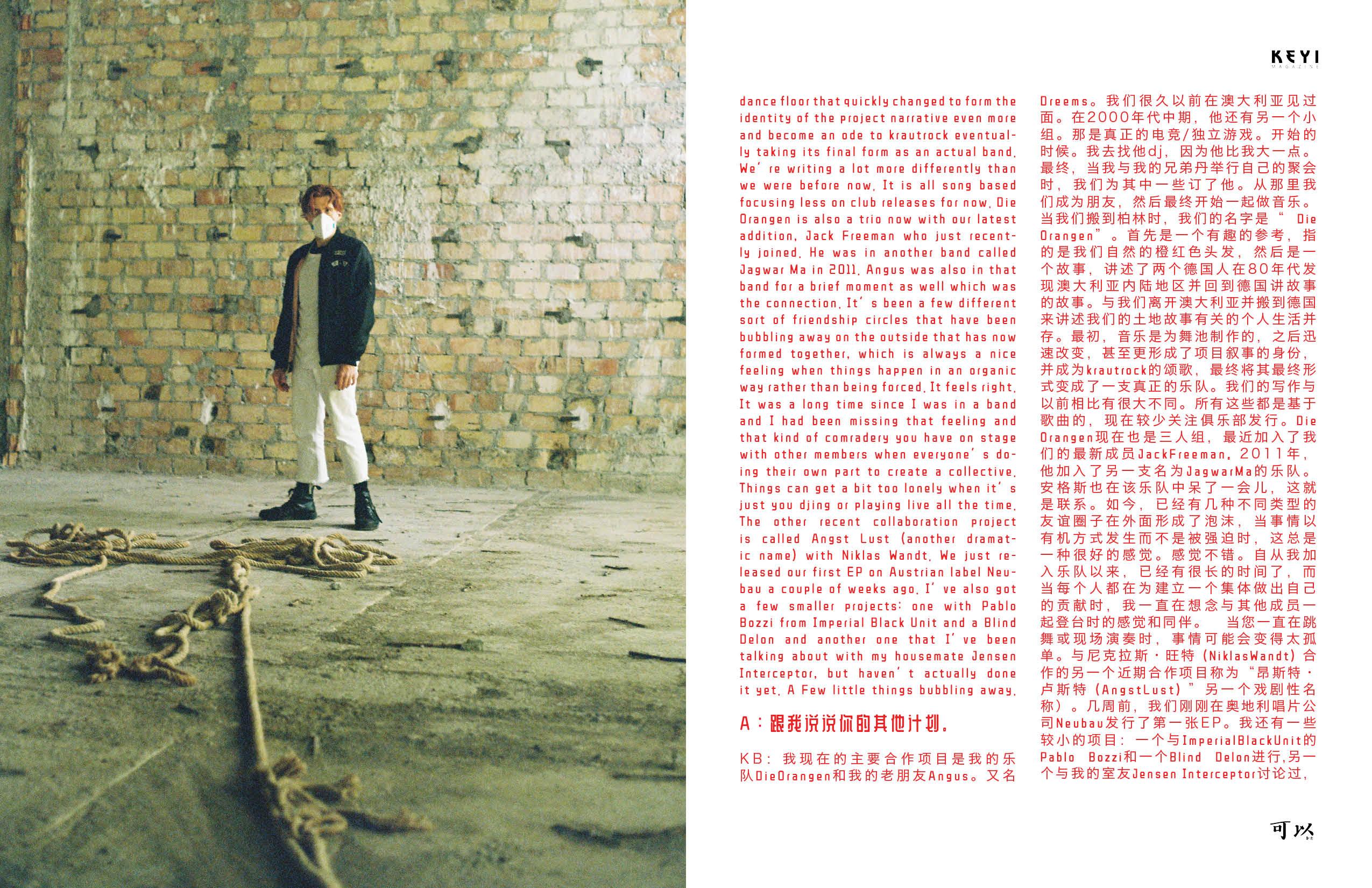 photoshoot for keyi magazine by keyi studio keyi.eu Grzegorz Bacinski Izabella Chrobok