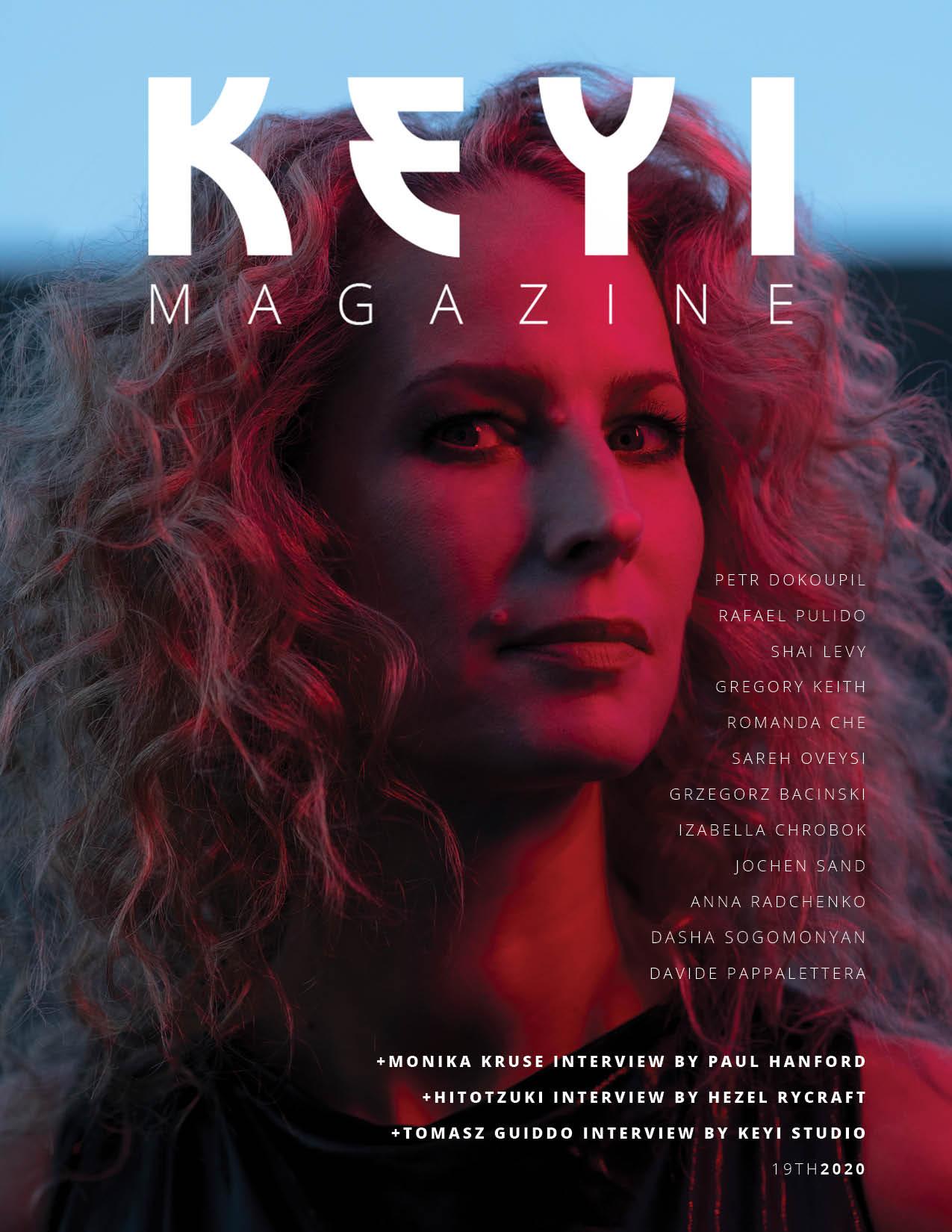 MONIKA KRUSE interview for Keyi Magazine Berlin by Paul Hanford and photos/styling by KEYI Studio Grzegorz Bacinski & Izabella Chrobok