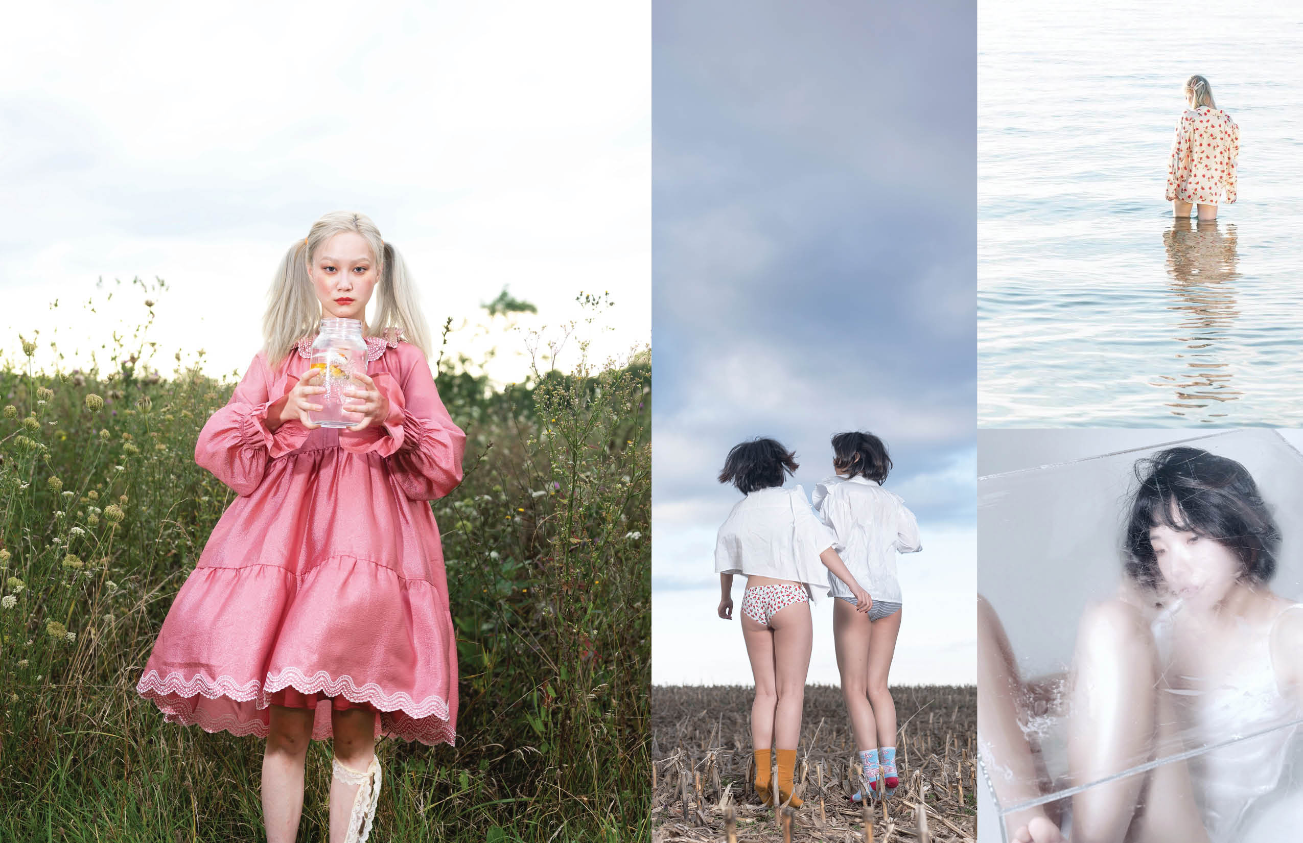 Some Places Left Behind by Menghan Tsai for Keyi Magazine