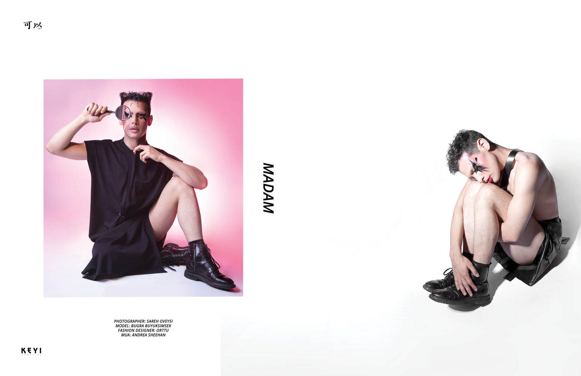 Sareh oveysi for keyi magazine berlin