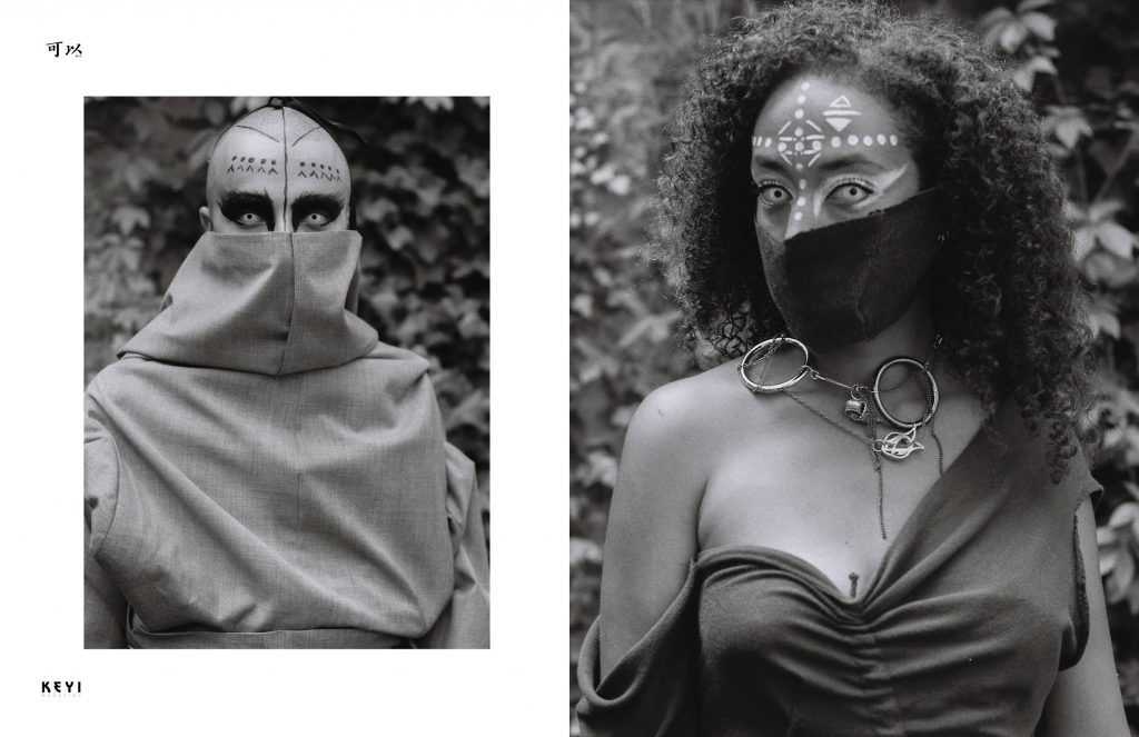 Lookbook Guovarde 21/22 by  KEYI STUDIO for Keyi Magazine. This collection is inspired by the ancient turks the sahamans.