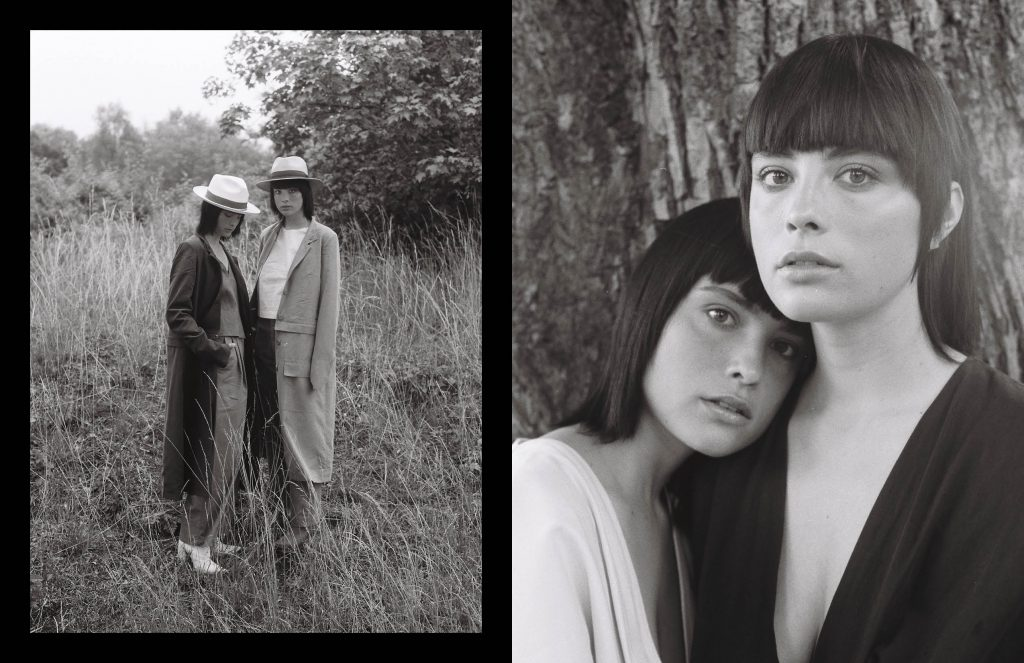 """""""Twins"""" by KEYI STUDIO with Cecilia & Josefa from Mimi's Management & Viva Models Berlin. Styled by Olyvia Oyster"""