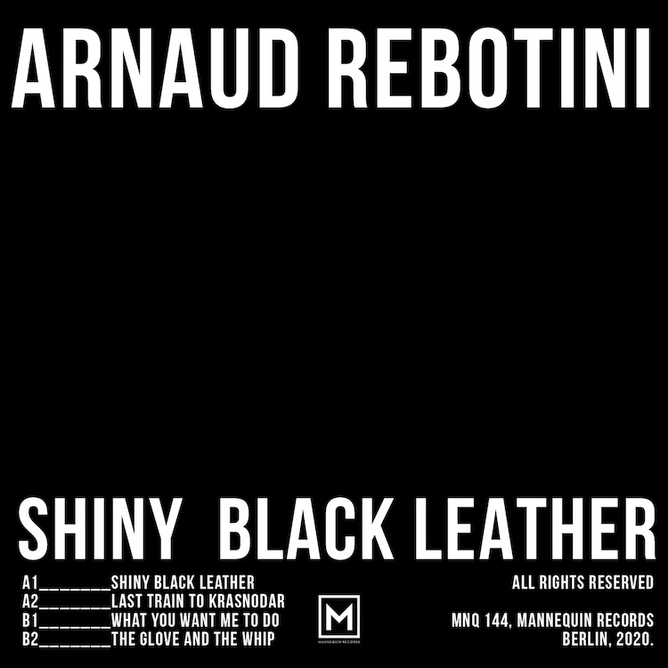 Mannequin Records brand new killer release from the legendary French producer Arnaud Rebotini for Keyi Magaznie Berlin