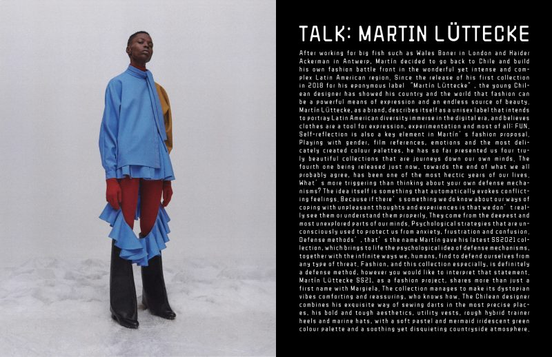 Martin luttecke keyi magazine fashion lookbook