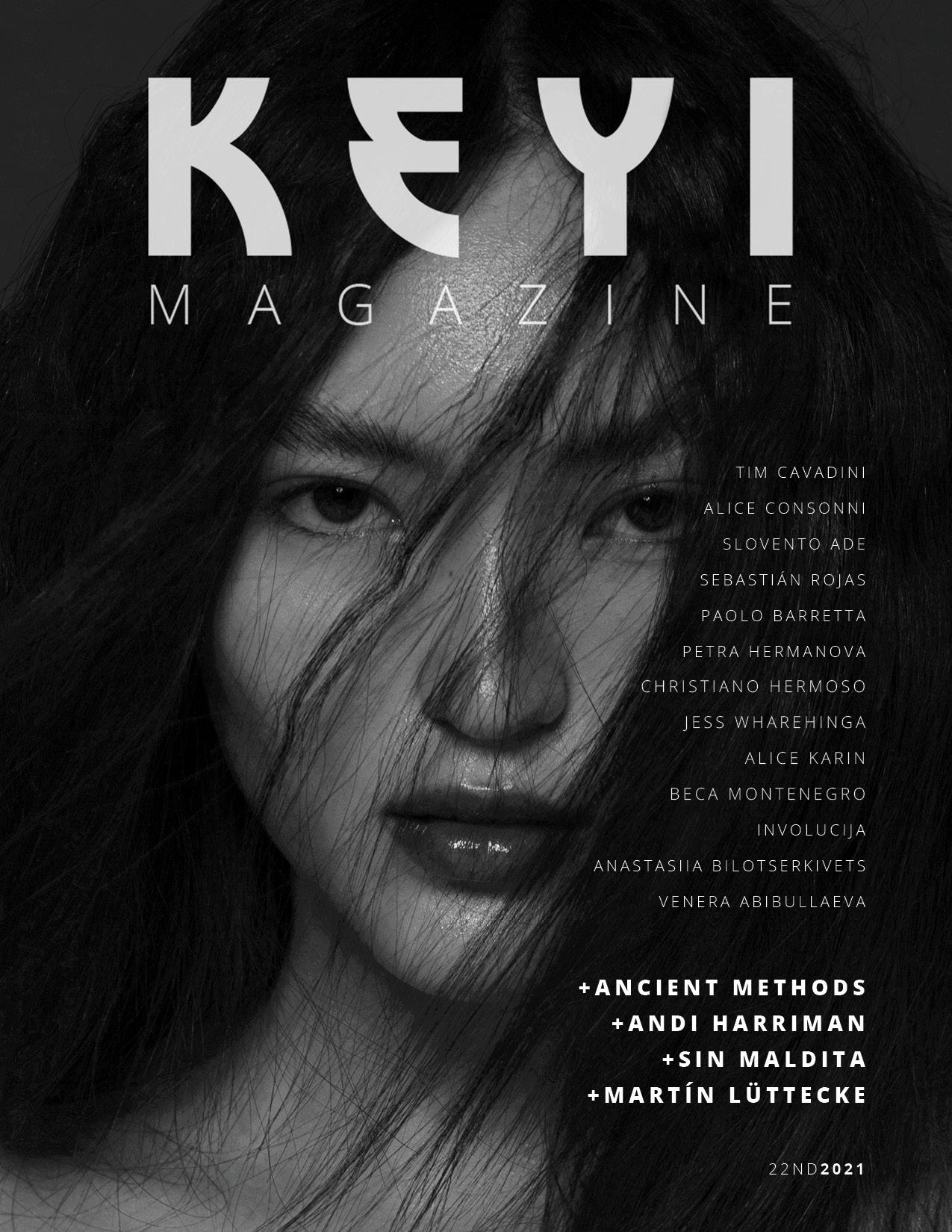 """Venera"" by Venera Abibullaeva with Borte from Ultra Models Agency for KEYI Magazine Berlin / Fashion Art Music /"