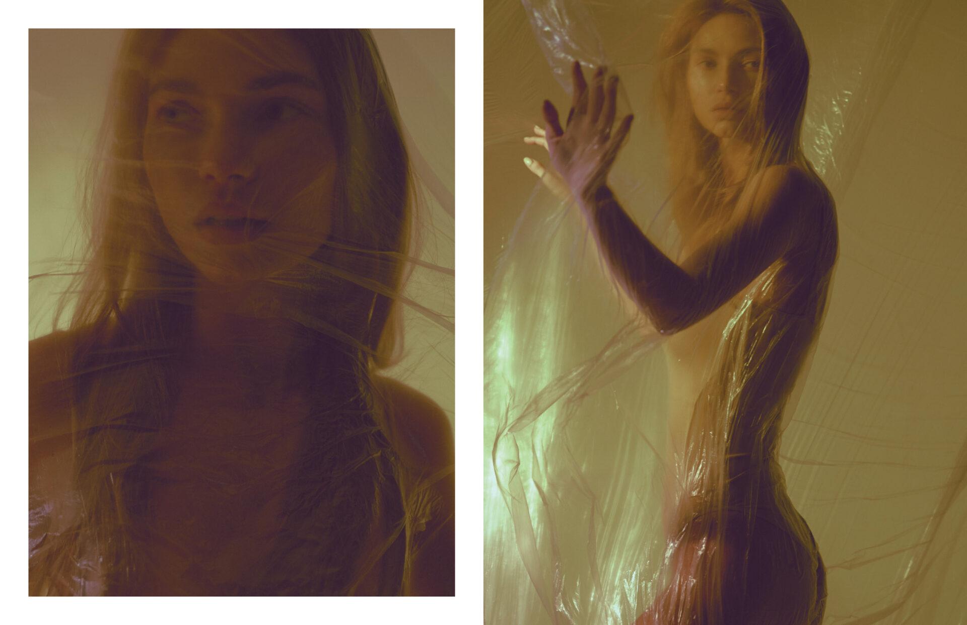 "Editorial ""Colors"" by Medana Marchenko with Uliana Belova. Make up by Anna Suri. Styling by Nadya Yakovleva for KEYI MAGAZINE"