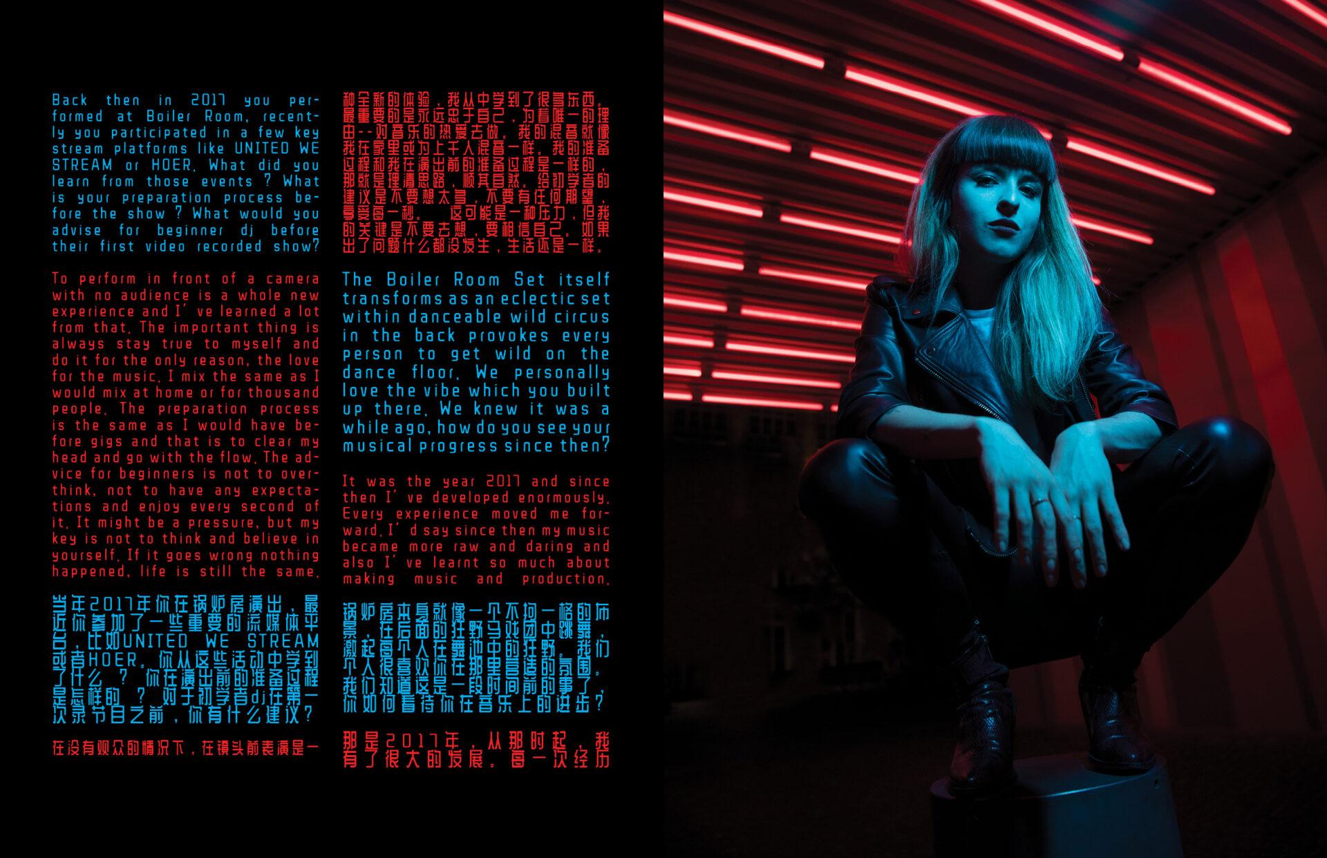 interview Tigerhead interview by Izabella Chrobok & Grzegorz Bacinski and photos editorial; by KEYI STUDIO