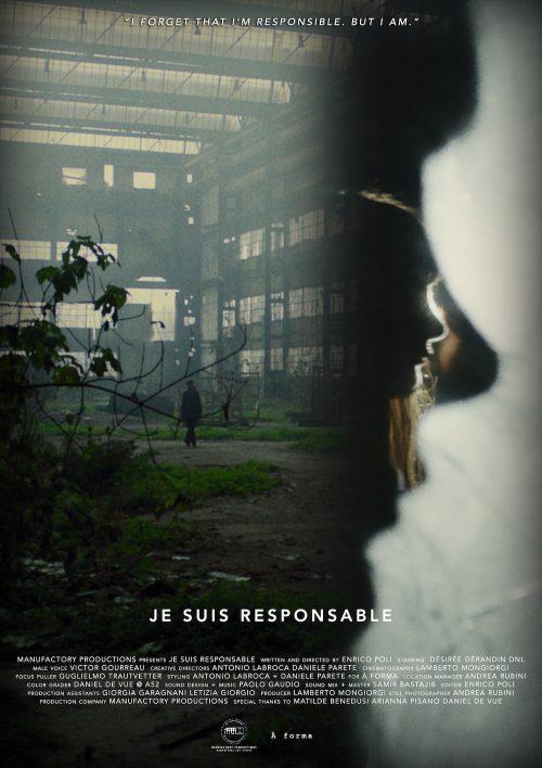 "PREMIERE:Fashion film by Antonio Labroca + Daniele Parete ""Je Suis Responsable"" A forma"