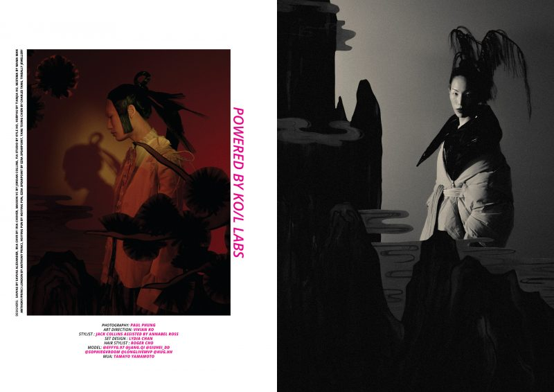 """Editorial """"POWERED BY KO/L LABS"""" by Paul Phung for KEYI MAGAZINE / Fashion art music / Magazine from Berlin/Shenzhen China"""