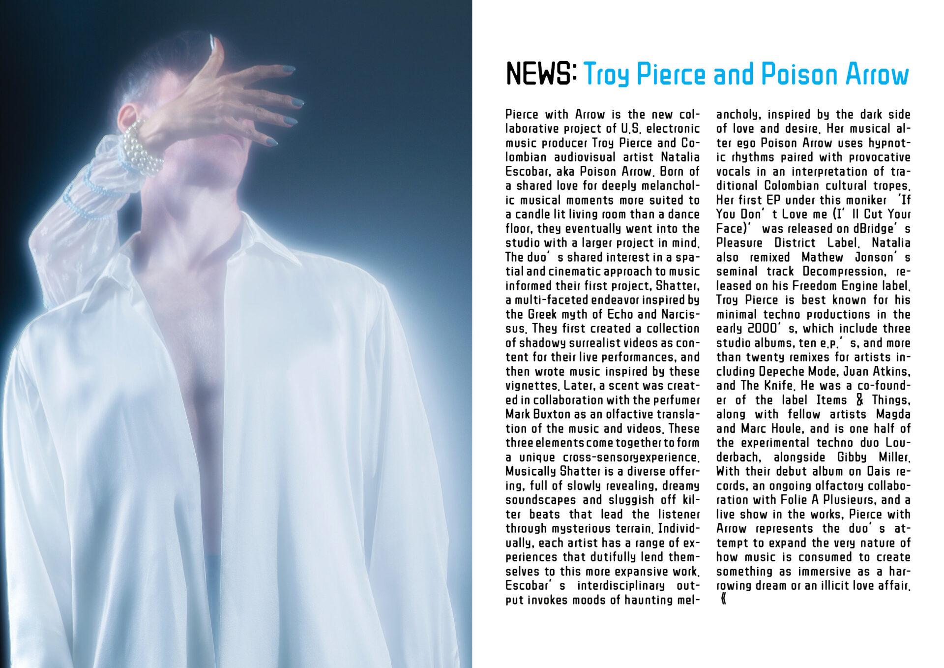 NEWS:Troy Pierce and Poison Arrow + Q&A by Grzegorz Bacinski with photos by Cornelia Thonhauser.