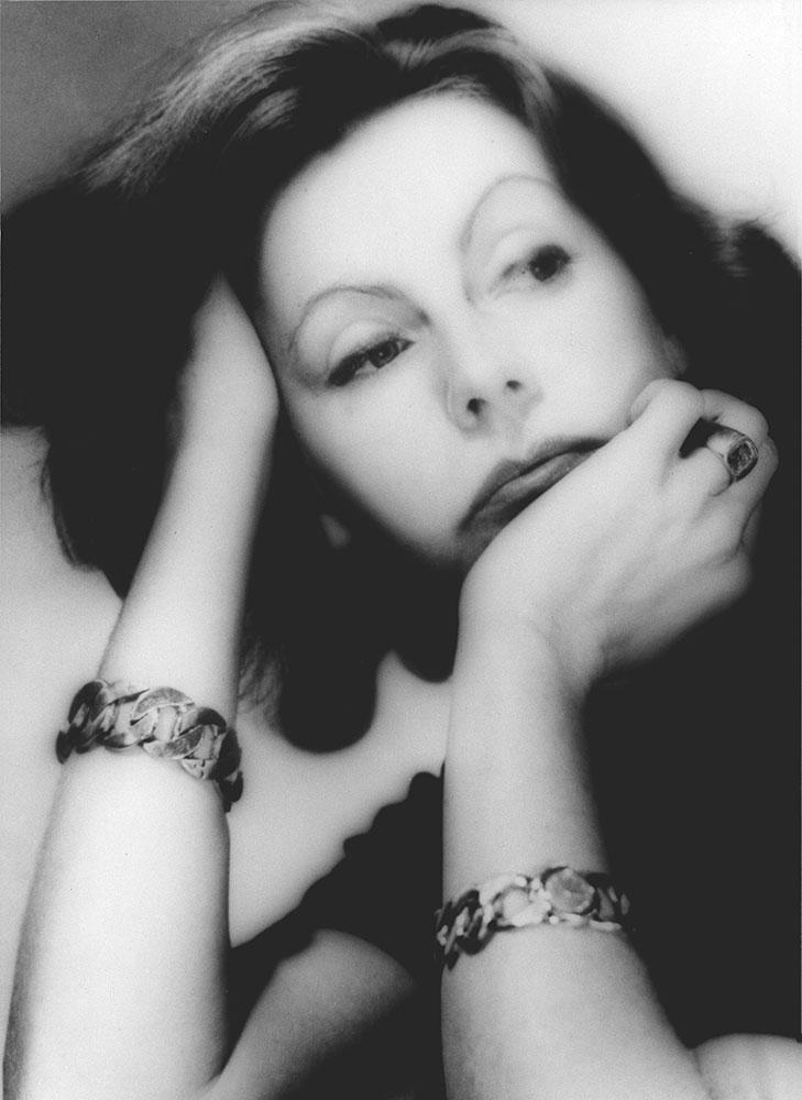 Greta Garbo, 1955 copyright George